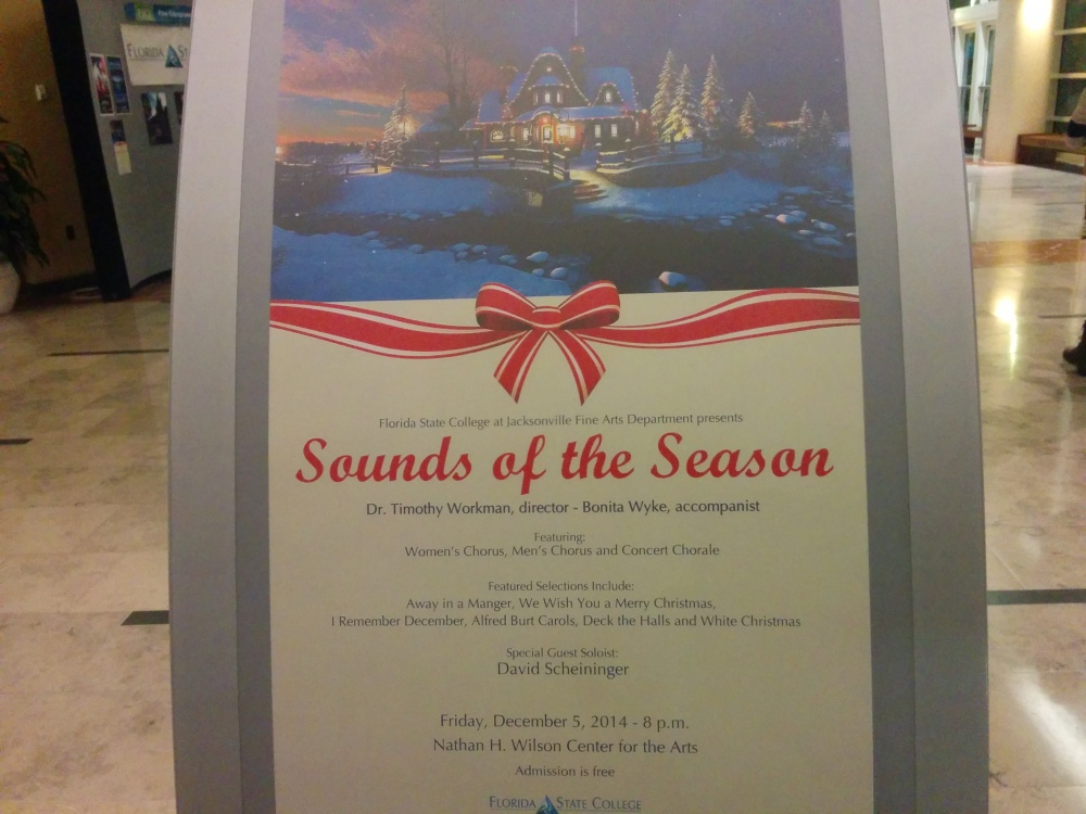 The Sounds of the Season highlighted Christmas favorites and a few new selections.