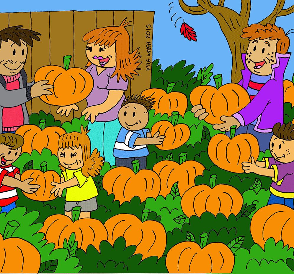 Love Picking Pumpkins