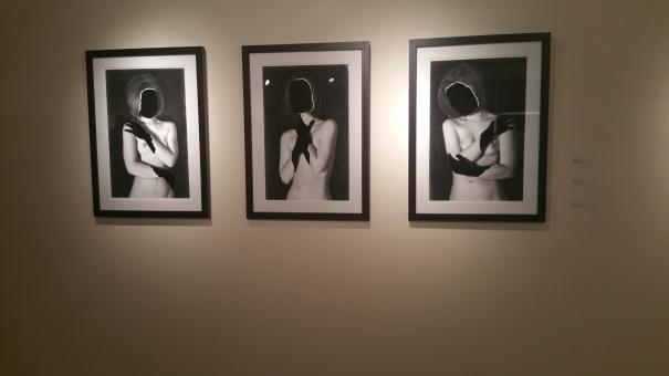 "Artist Cody Rose, ""Malaise I,"" ""Malaise II,"" ""Malaise III."" Charcoal on paper, $400 each"