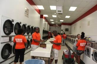Serve Team providing money for all customers