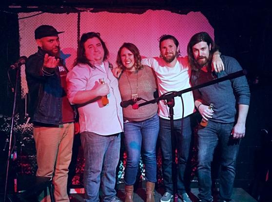 Gregg Matson, Anthony Nolan (Tubbie), Me, Michael Taylor, and Ryan Josey
